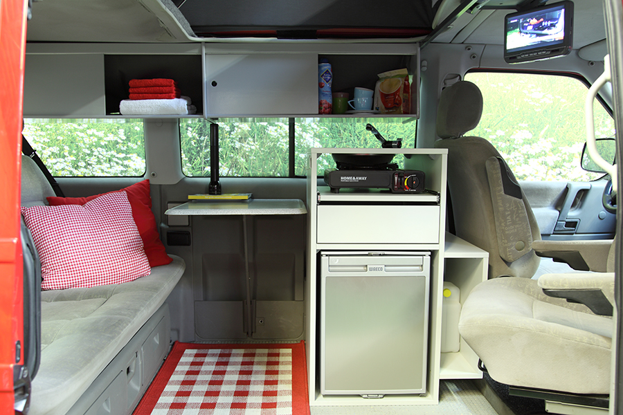 Vw t4 california westfalia 2 4d for Interieur westfalia