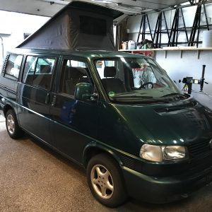 T4 CARAVELLE CAMPER 2.8 VR6 BENZINE AUTOMAAT AIRCO!!