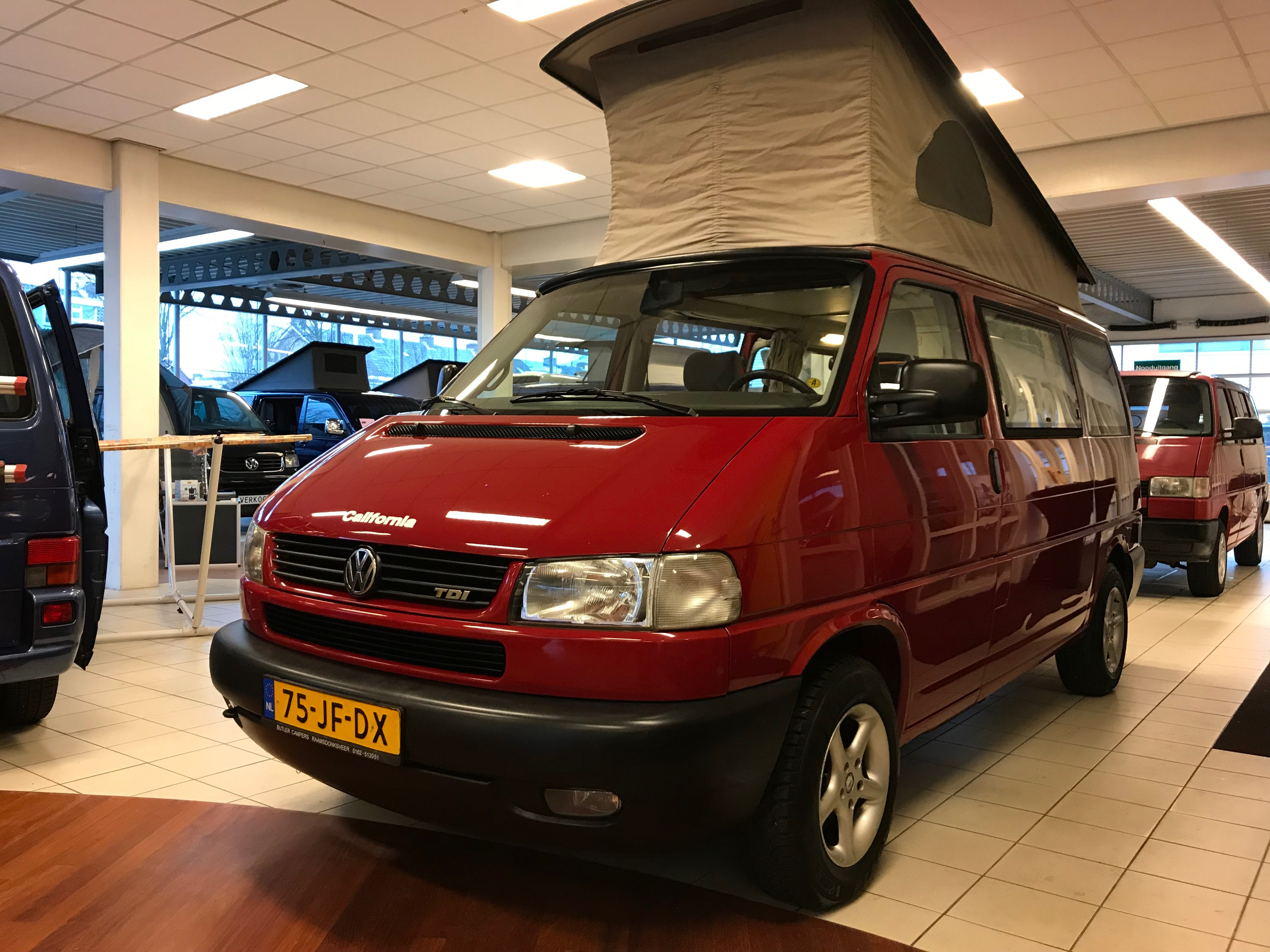 VW T4 CALIFORNIA CAMPER 2.5 TDI 1997