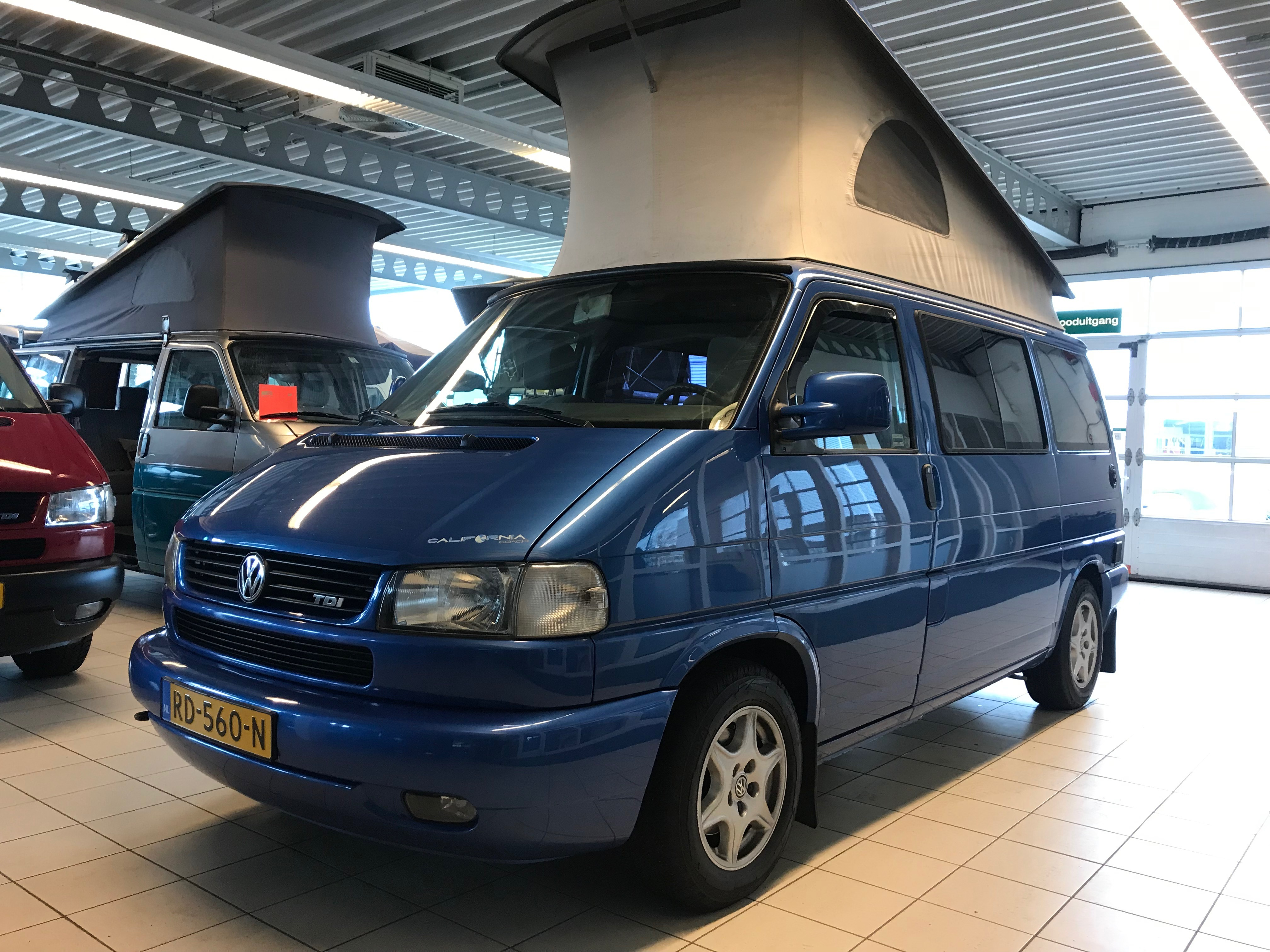 VW T4 CALIFORNIA 2.5 TDI APRIL 2001 HEEL MOOI!