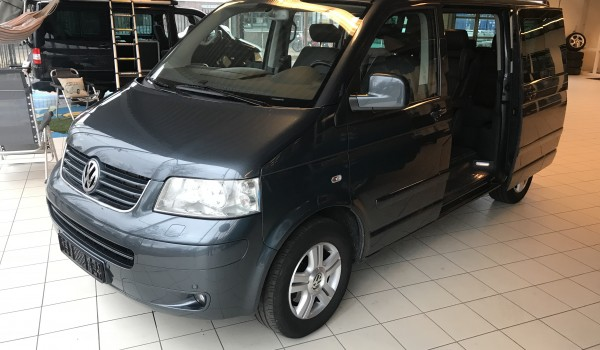 VW T5 MULTIVAN HIGHLINE 4-MOTION 2.5 TDI VERKOCHT